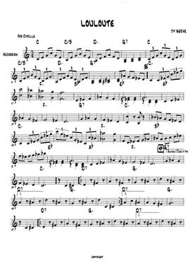 JY-SERVE-Orchestre_partition_LOULOUTE
