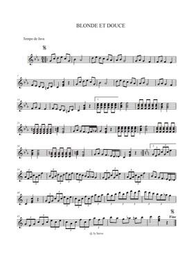 JY-SERVE-Orchestre_partition_Blonde-et-Douce-(Java)
