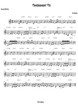 JY-SERVE-Orchestre_partition_Tendrement-toi